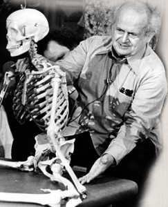 Moshe Feldenkrais and Skeleton