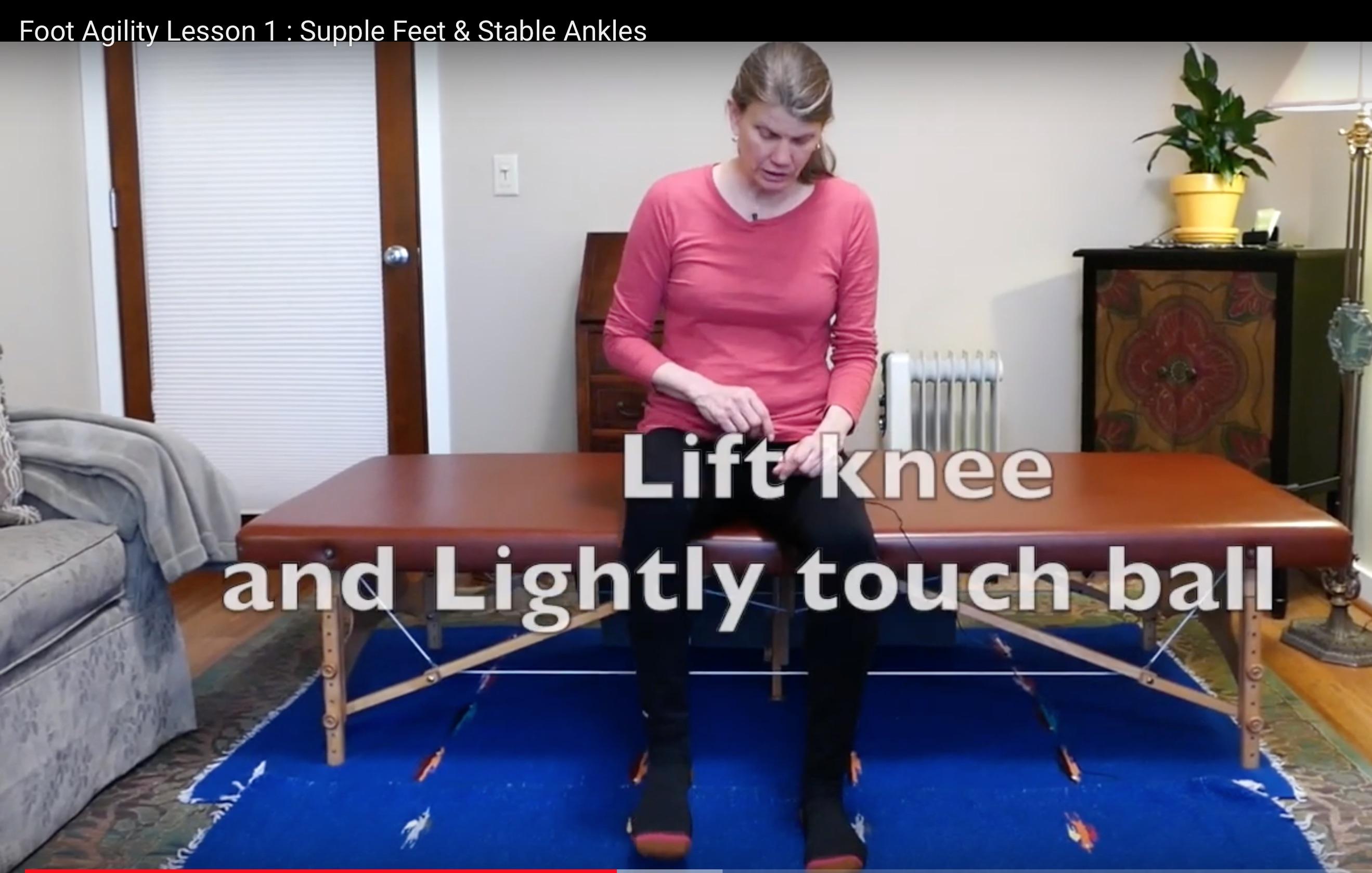 Foot Agility Lesson 1